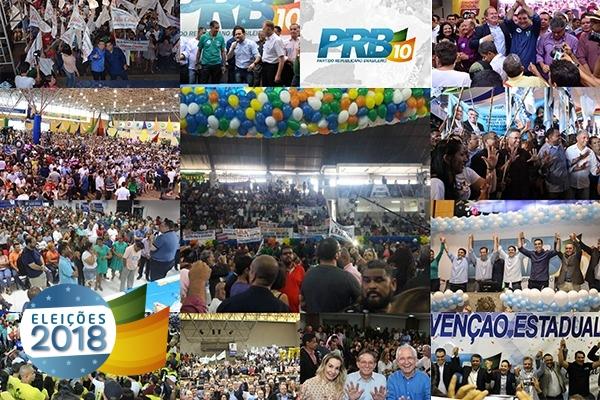 PRB realiza convenções partidárias em 12 estados neste sábado