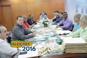 Coordenadores regionais discutem cenário político do RJ com presidente Eduardo Lopes