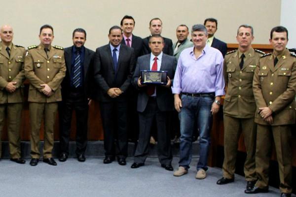 Coronel Bianchini recebe Título de Cidadão Honorário de São Sebastião do Paraíso