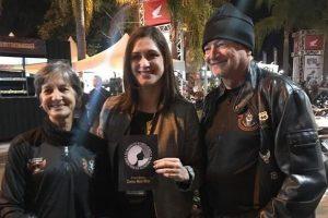 Cristiane Britto participa de ação no Brasília Capital Moto Week