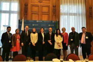 Cristiane Britto participa de diálogo da OCDE sobre violência doméstica