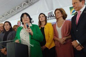 Cristiane Britto inaugura Casa Mulher Brasileira em São Paulo