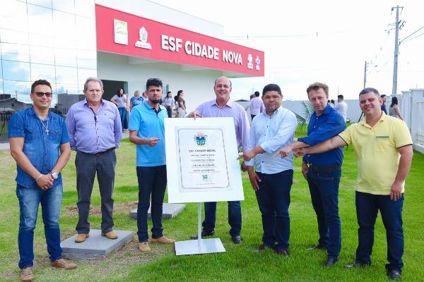 Cristiano Bicô participa de inauguração de unidade de saúde em Nova Mutum (MT)