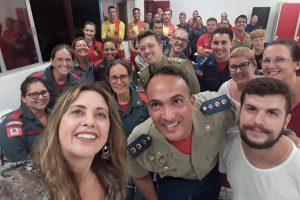 Corpo de Bombeiros de São José recebe capacitação em Libras