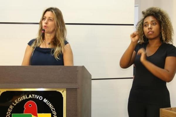 Cristina Sousa pede o ensino de Libras na formação de novos policiais