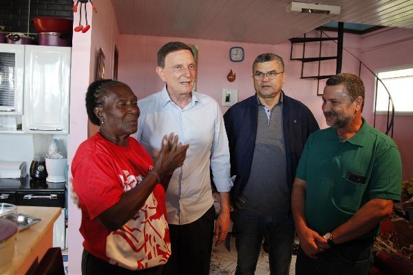 Crivella entrega obras do Cimento Social no Salgueiro
