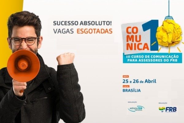 PRB promove curso de marketing digital para assessores de comunicação
