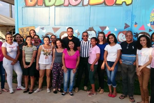 """Daniel Figueiredo apoia projeto """"Biblioteca em Ação"""" no Riacho Fundo II"""