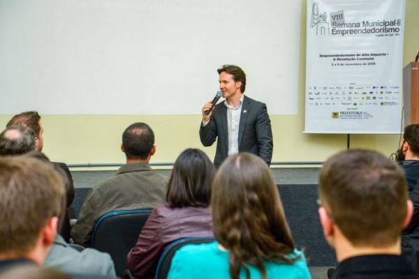 Daniel Guerra lança programação da VIII Semana do Empreendedorismo
