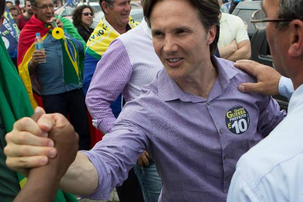 Daniel Guerra é eleito prefeito de Caxias do Sul (RS) com 62,79%
