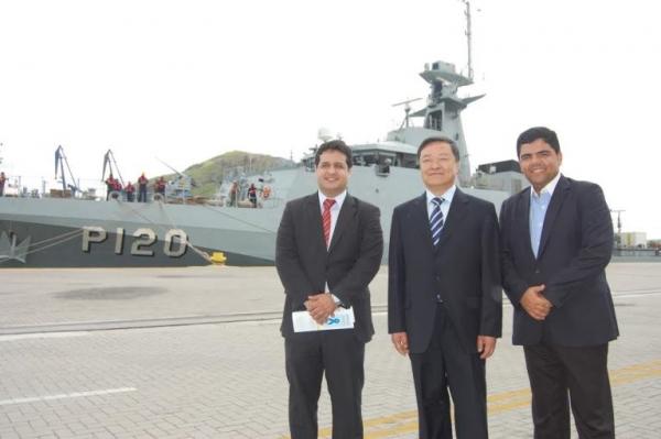 Delegação Chinesa é recebida por republicano na Câmara Municipal de Vitória