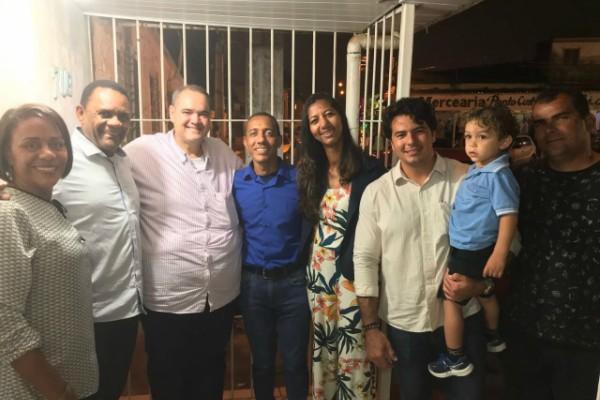 Republicanos prestigiam evento natalino em Olinda