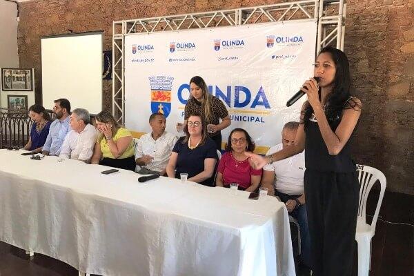 Denise Almeida prestigia Concurso Cultural do IPTU 2020 em Olinda