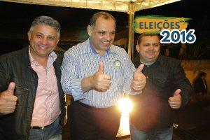 Deputado Roberto Alves participa de comício de Frajola à Prefeitura de Pereiras (SP)