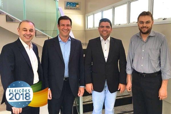 PRB ES se reúne com Executiva nacional do partido e define estratégias para as eleições