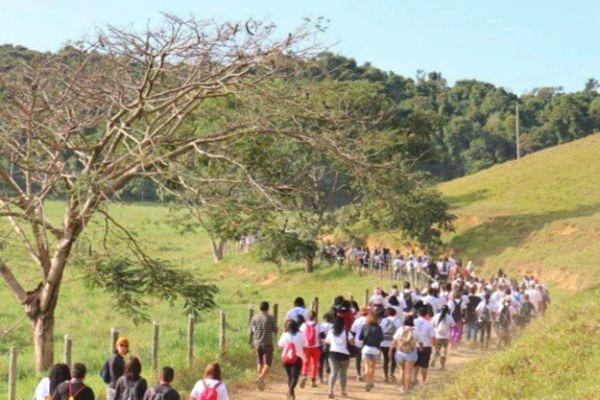 Secretaria de Meio Ambiente promove caminhada ecocultural em Viana