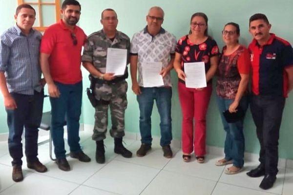 Domingo Luiz garante reforço no efetivo da Polícia Militar de Esperantina (PI)