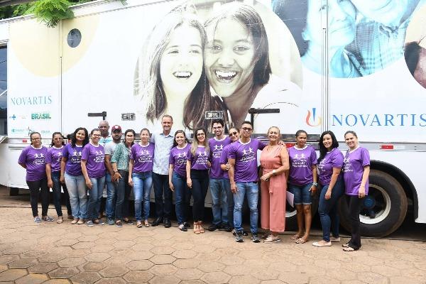 Formosa do Rio Preto recebe Carreta Itinerante da Saúde Roda Hans