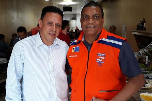 Edesio Fernandes homenageia a Defesa Civil de Porto Velho