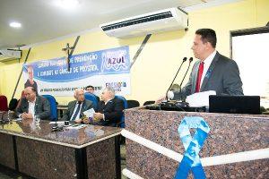 Edesio Fernandes promove palestra sobre a prevenção do câncer de próstata