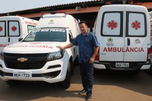 Edesio Fernandes conquista ambulância para o distrito de Rio Pardo