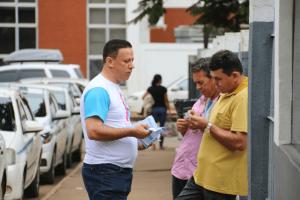 Edesio Fernandes intensifica campanha contra o câncer de próstata