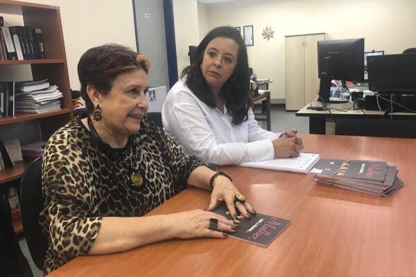 Edna Macedo visita Promotoria de Justiça em São Paulo