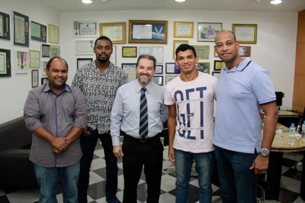 Eduardo Lopes apoia a cultura em Itaguaí