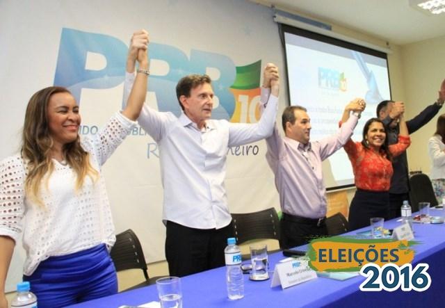 Eduardo Lopes e Marcelo Crivella reúnem pré-candidatos no Rio de Janeiro