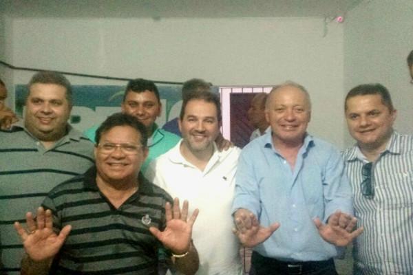 Ao lado de republicano do estado, o presidente nacional interino, Eduardo Lopes falou das metas do partido para 2018