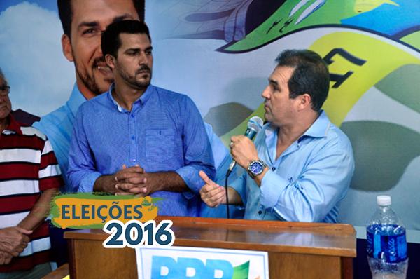 Eduardo Lopes realiza filiação de Robinho do Raio X, em São Pedro da Aldeia