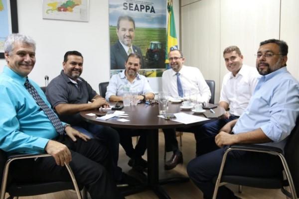 Eduardo Lopes firma parceria com a FAO para o desenvolvimento da aquicultura e pesca no RJ