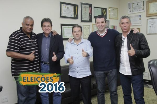 Eduardo Lopes recebe vereador Igor Sardinha, pré-candidato a prefeito em Macaé