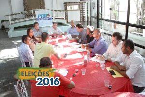 Eduardo Lopes se reúne com presidentes municipais na Baixada Fluminense