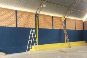 Prefeito Eduardo Rabelo realiza reforma completo do Ginásio de Esportes