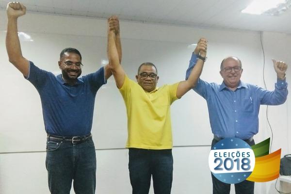 Eli Ribeiro lança campanha de Márcio Marinho e Arimateia em Feira de Santana