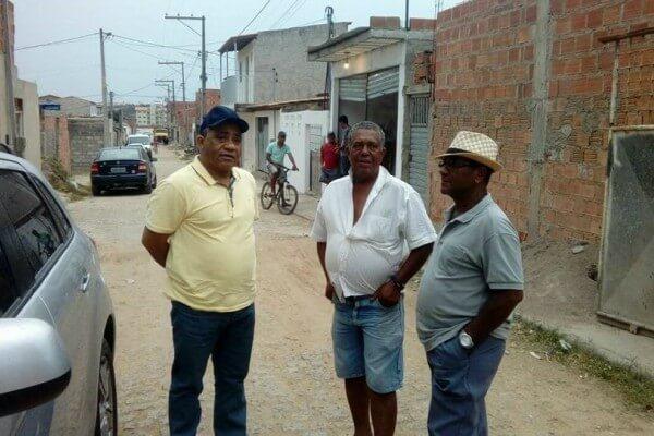 Por indicação de Eli Ribeiro, ruas de Feira de Santana serão pavimentadas