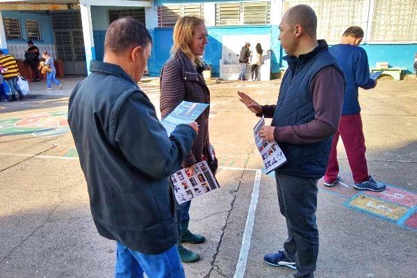 Vereador Elisandro Fiuza leva gabinete itinerante ao bairro Fátima em Caxias do Sul