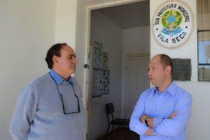 Vereador Elisandro Fiuza visita subprefeitura da comunidade Vila Seca (RS)