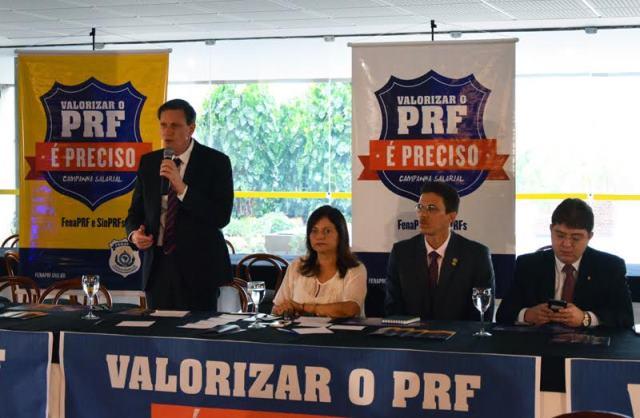 Em Brasília, Crivella participa de encontro com polícias rodoviários federais