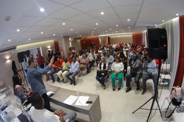 Encontro do PRB em Queimados reúne militância e lideranças políticas