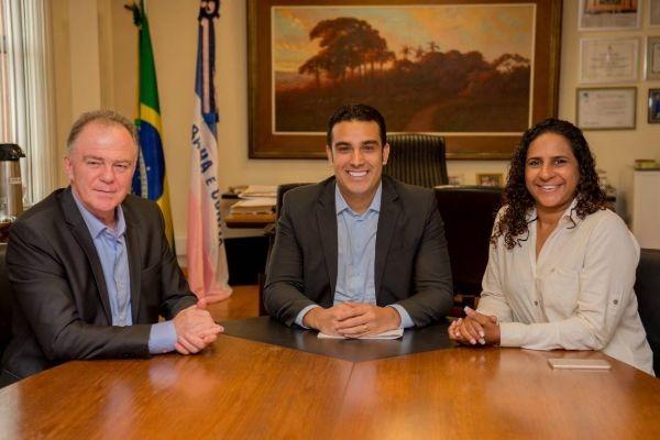 Erick Musso recebe visita do governador eleito no Espírito Santo