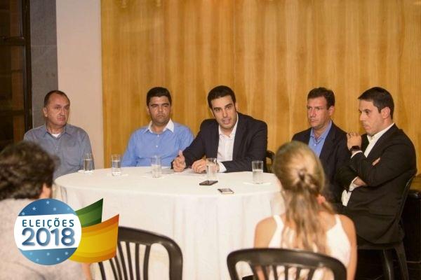 PRB recebe filiação do deputado Erick Musso presidente da Assembleia do Espírito Santo