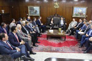Ercik Musso discute reforma da Previdência com presidente do Senado