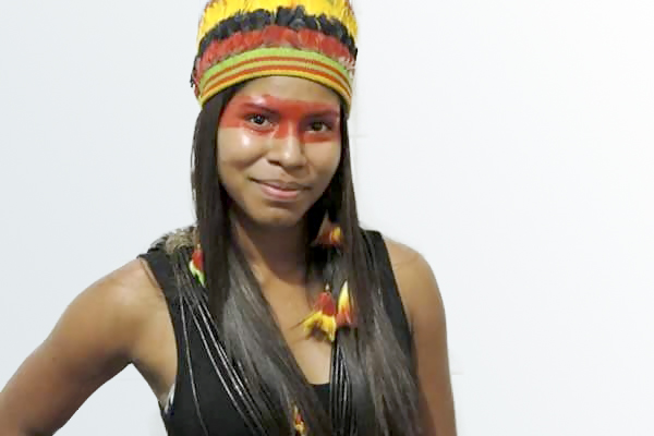 Érika Negarotê (PRB) é a primeira indígena eleita vereadora em Comodoro (MT)