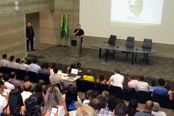 Euler Barbosa lança Lei de Incentivo ao Esporte no Ceará
