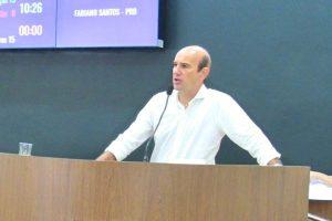 Fabiano Santos pede audiência para discutir situação de barragem em Araxá