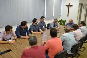 Fabiano Santos participa de reunião sobre reeducação no sistema prisional de Araxá