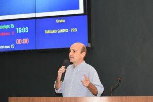 Fabiano busca informações sobre o ICMS Ecológico destinado ao município de Araxá