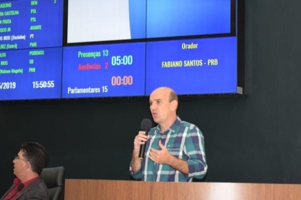 Fabiano Santos pede estudo para repassar ICMS Ecológico à reserva ambiental de Araxá